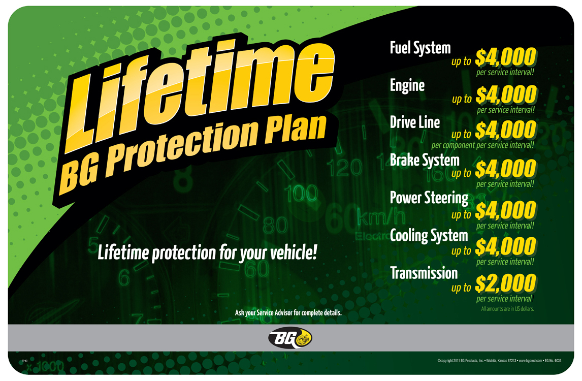 BG lifetime Protection Plan Facts